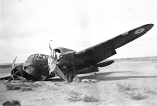 Night operations accident: Blenheim I L6660 Quotaifiya 17 September 1940