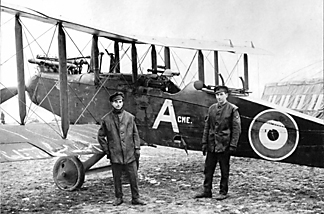 211 Squadron Airco DH9 A-Acme, 'B' Flight April 1918