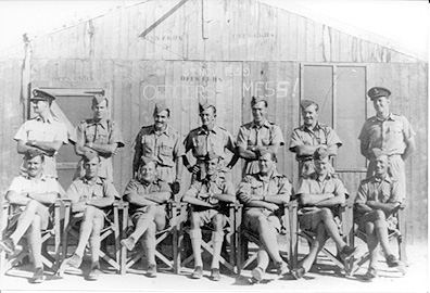 211 Squadron Officers El Daba late 1939