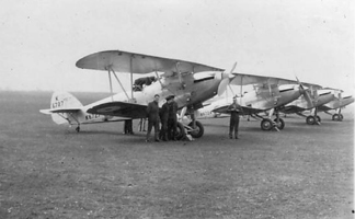 Hawker Hinds 108 Squadron c 1937
