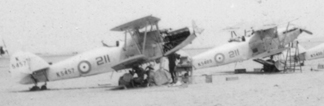 Hawker Hinds K5457, K5409, K5430 in Egypt
